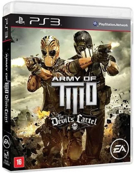 Jogo Army Of Two The Devils Cartel (usado) Ps3
