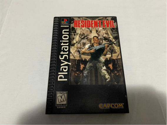 Resident Evil Ps1 Long Box Original Completo Americano
