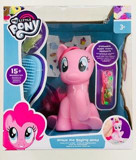 My Little Pony Pinkie Pie Styling Head Con 15 Accesorios