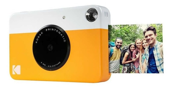Câmera Digital Instantânea Kodak Printomatic Amarela 27410