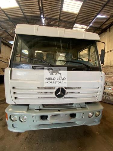 Imagem 1 de 12 de Mb 1418 R Truck Com Poli Guindaste - 1999