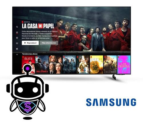 Tv Led Samsung 65 Smart 4k Cristral Uhd - Año 2021 + Soporte