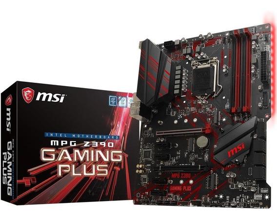 Placa Mãe Msi Mpg Z390 Gaming Plus Intel 1151 Ddr4 Atx