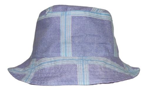 Imagen 1 de 3 de Bucket Hat Estampado Morado.