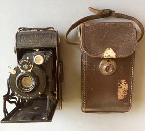 Antiga Camera Alemã - Anos 1930/40 - Muito Bom Estado