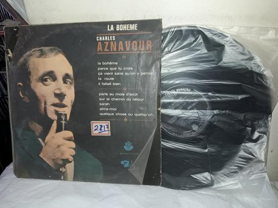 Lp Charles Aznavour La Boheme