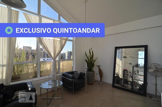 Studio No 1º Andar Com 1 Dormitório - Id: 892949005 - 249005