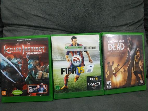 Lote 3 Jogos Xbox One - Frete Grátis - Mídia Física