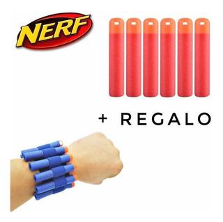 Paquete 24 Dardos Mega Nerf Envío Gratis + Regalo