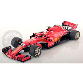 Ferrari F-1 Sebastian Vettel Sf71-h Vermelha Burago 1/18