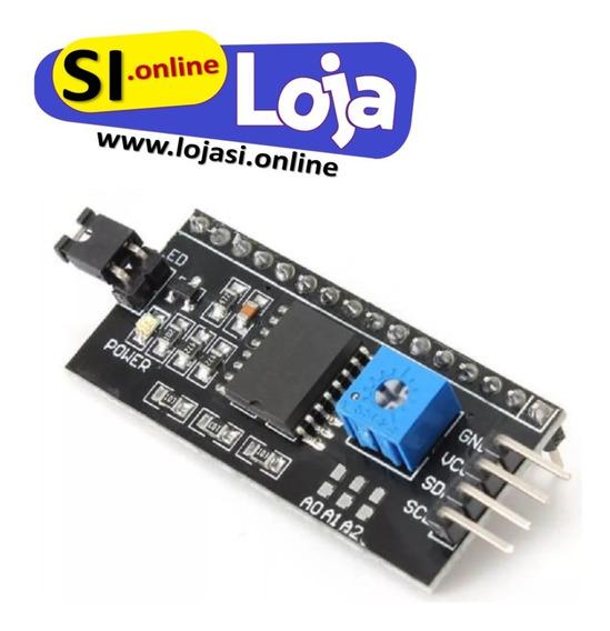 Modulo Serial I2c/lcd 16x2 - Arduino - Enviando Normalmente