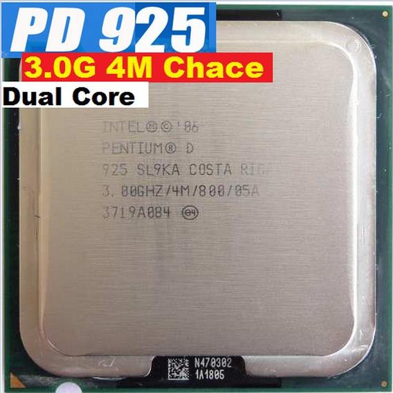 Processador Pentium D 925 3.0 Ghz Dual Core 4 M Cache 775