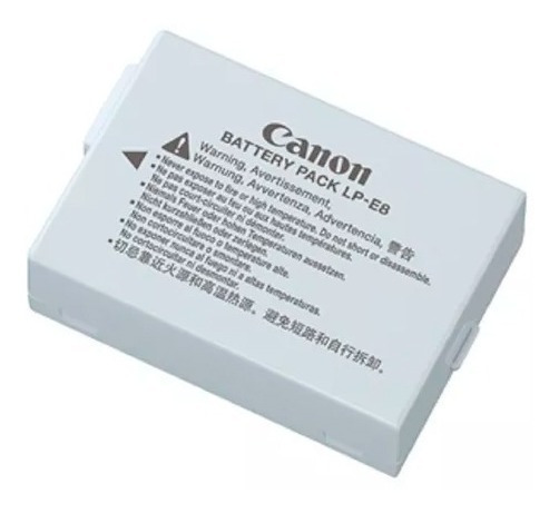 Bateria Lp-e8 Canon T5i T4i T3i T2i 700d 650d 600d 550d P10