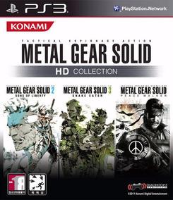 Jogo Metal Gear Solid Hd Collection Ps3 Pronta Entrega Game