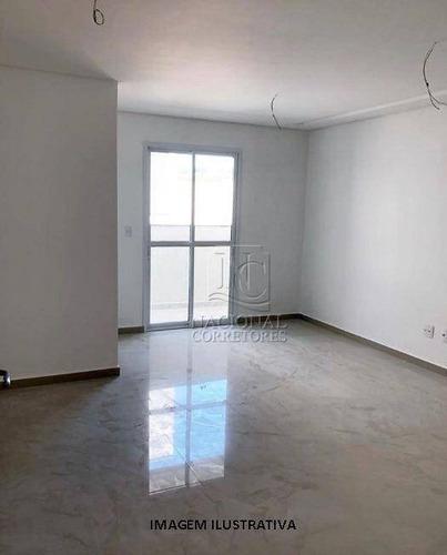 Cobertura À Venda, 140 M² Por R$ 780.000,00 - Jardim - Santo André/sp - Co4058