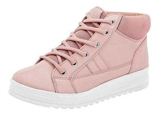 Zapatos Casual Urbanos Dama Tenis De Botin Dash! 5294 Poi19