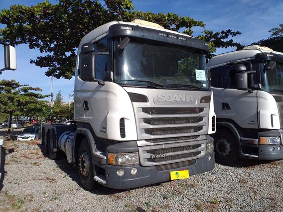 Scania R 480 6x4 Canelinha Com Retarder Optcruise