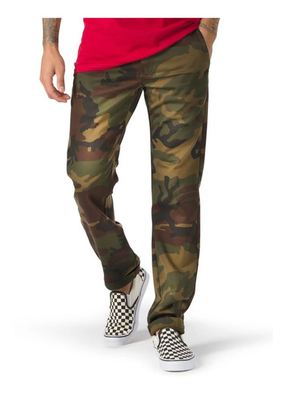 Pantalon Vans Authentic Chino Stretch Camuflaje