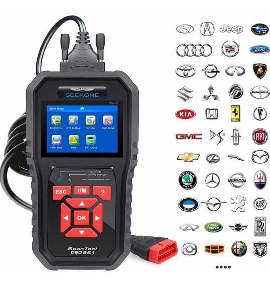 Scanner Automotivo Sk860 Diagnóstico Injeção Eletrônica