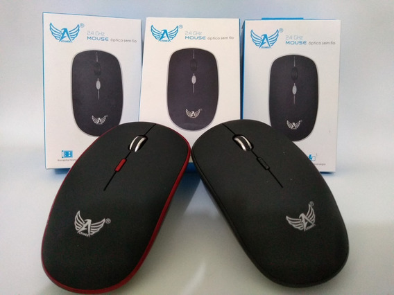 Mouse Optico Sem Fio Wireless Usb Altomex 2.4 Ghz A-6899