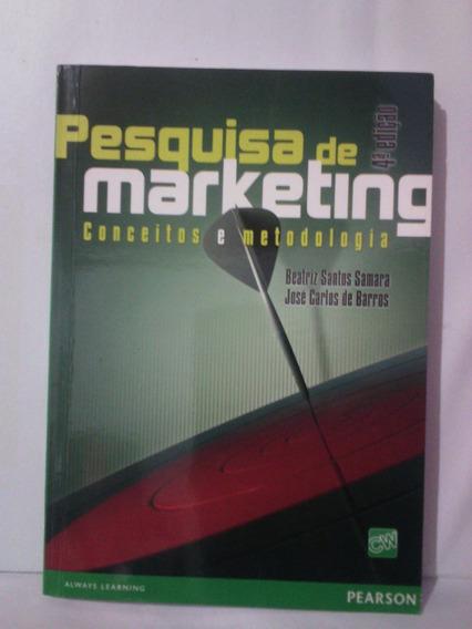 Pesquisa De Marketing - Conceitos E Metodologia
