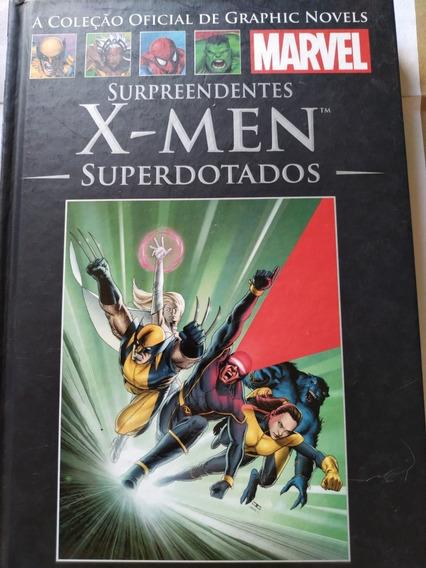 Salvat N° 36 X-men Superdotados - Frete Gratis