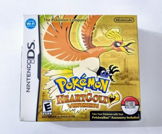 Pokemon Heart Gold Version - Ds / 3ds - Impecável !!!