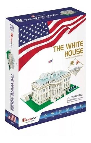Quebra-cabeça 3d The White House 64 Pçs