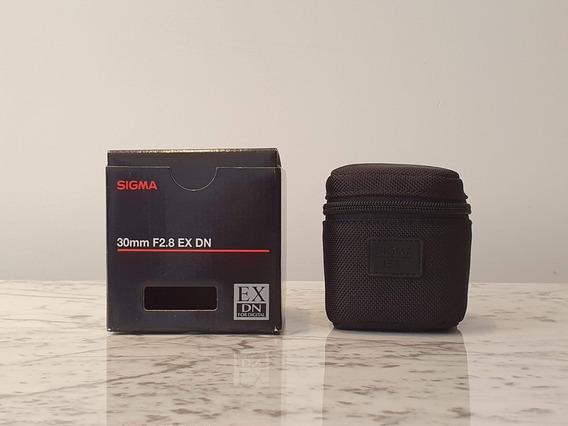Lente Sigma 30mm 2.8 Sony E-mount