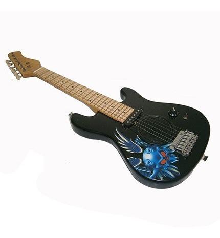 Guitarra Electrica Pequeña Azul.