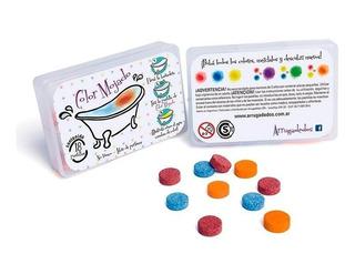 Pastillas Para Colorear El Agua- Precio X Caja- Arrugadedos