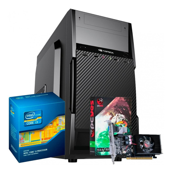 Cpu Gamer Intel / Core I3 / 4gb / 500gb / Geforce 2gb/ Wifi