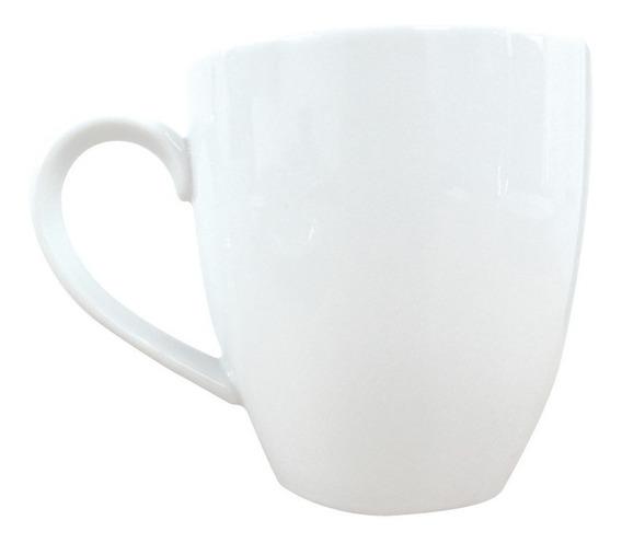 Jarro Mug Tsuji 1600 Taza 390 Ml Café Té Blanco