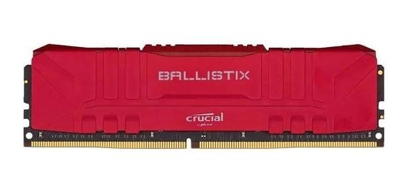 Memoria Ram 8gb Ddr4 2666mhz Crucial Ballistix Red Bulk