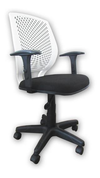 Cadeira Giratória Wind Com Braços Reguláveis Escritório Home