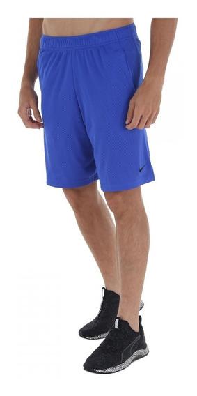 Bermuda Nike 9in Monster Mesh - Masculina Azul