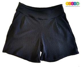 Shorts Plus Size Canelado Tamanho P Ao Gg Frete Grátis