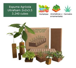 Caja De Espuma Agrícola Ultrafoam 2x2x3.5 (3.240 Cubos)
