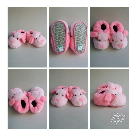 Oferta Pantufas Dog Rosa Pink Promoçao Adulto E Infantil