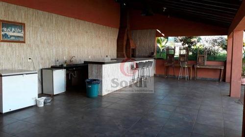 Chácara Com 3 Dormitórios À Venda, 2500 M² Por R$ 1.000.000,00 - Condomínio Estância Beira Rio - Jardinópolis/sp - Ch0054