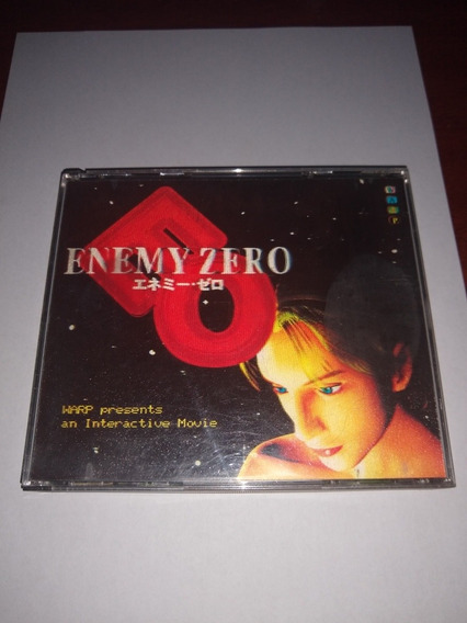 Enemy Zero Sega Saturn Original Japonês