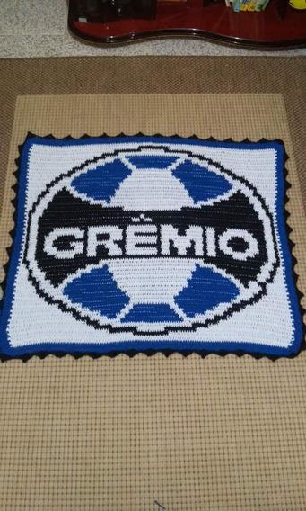 Tapete De Crochê Do Grêmio, Feito Por Encomenda.