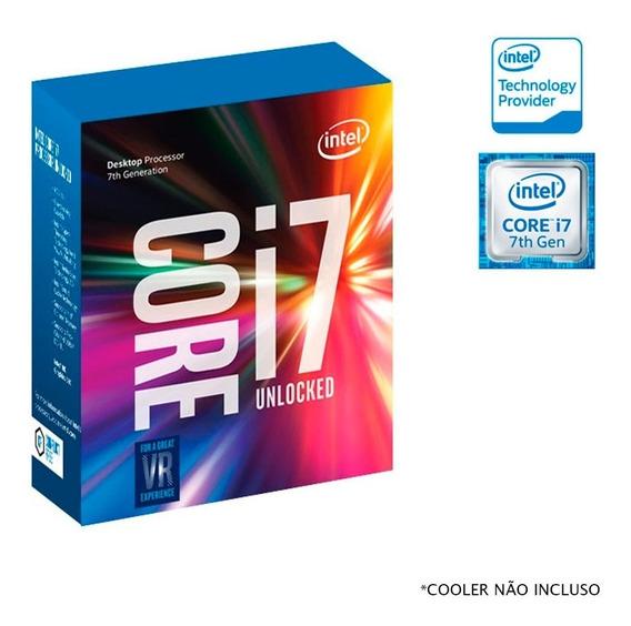 Processador Core I7 7700k Delid P/ Placa Mãe Z270 6ª/7ª Gen