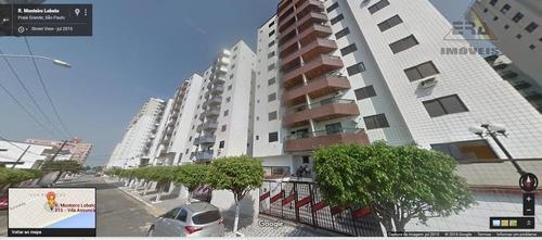 Apartamento  Residencial À Venda, Cidade Ocian, Praia Grande. - Ap0128