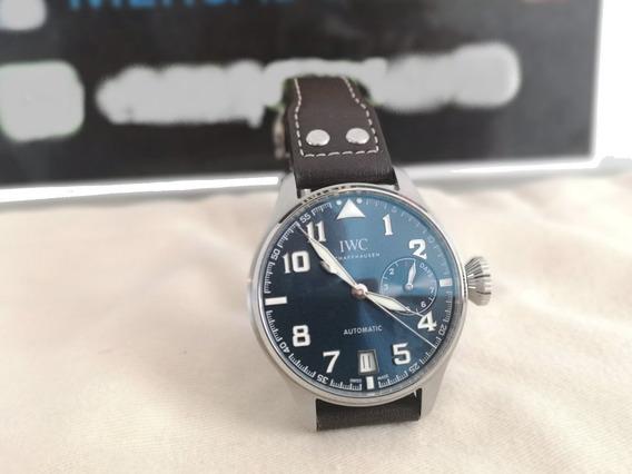Reloj Iwc Big Pilot Petit Prince Blue El Principito 46mm