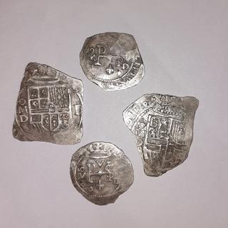 Monedas Macuquinas Lote 2