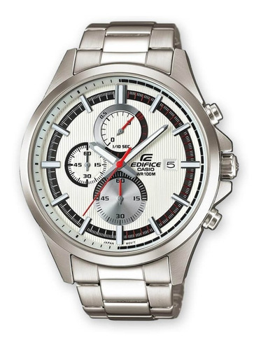 Reloj Casio  Edifice Efv 520d Acero Cronografo 100% Original