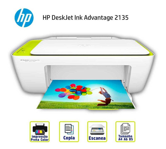 Impressora Multifuncional Hp 2135 Color