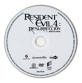 Resident Evil 4 Pelicula Dvd Original Nueva Vdgmrs