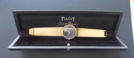 B9609 Relogio Em Ouro Piaget Decada De 60/70 A Corda, Com C
